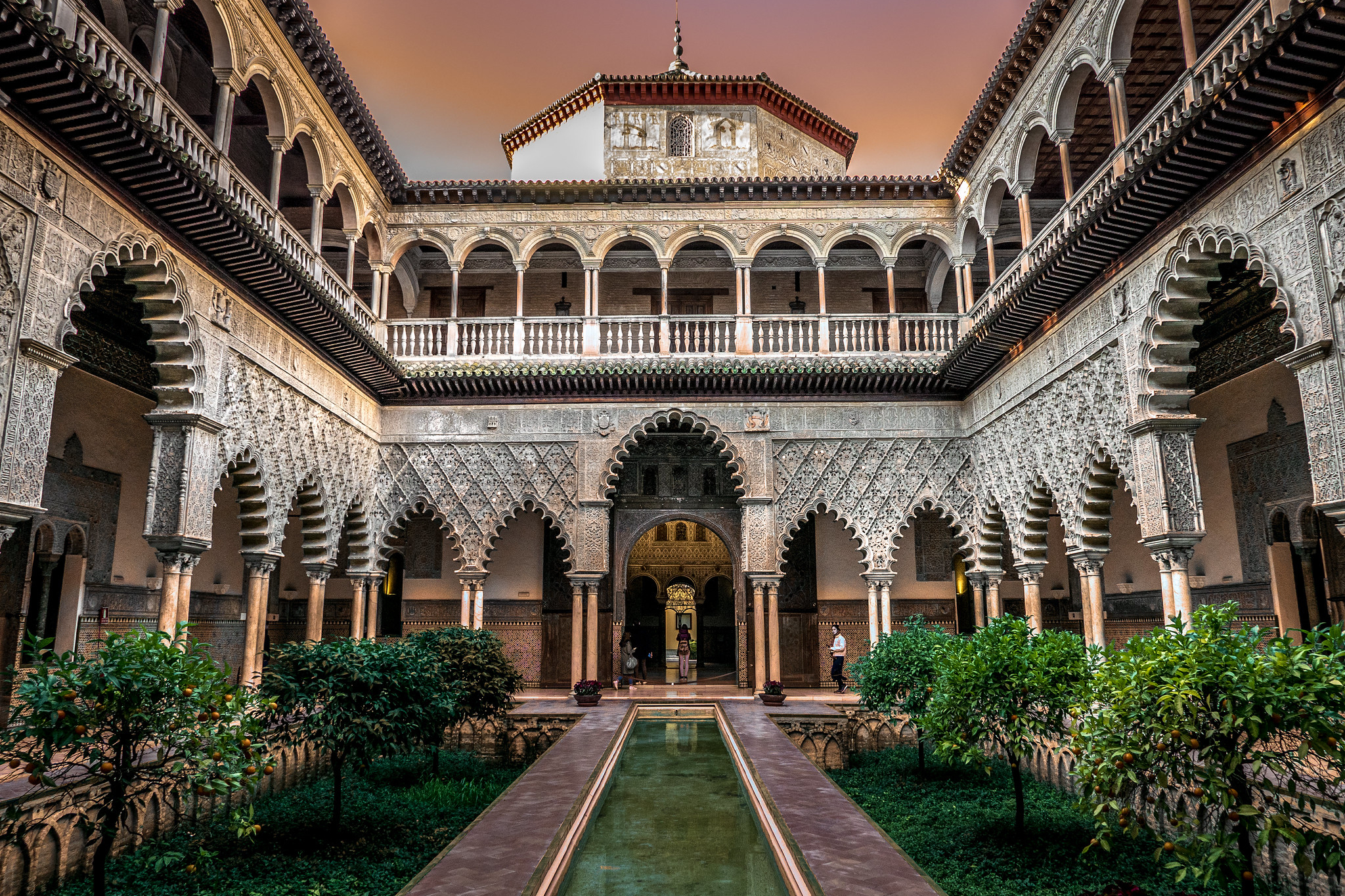 Audio guides of the Real Alcázar of Seville