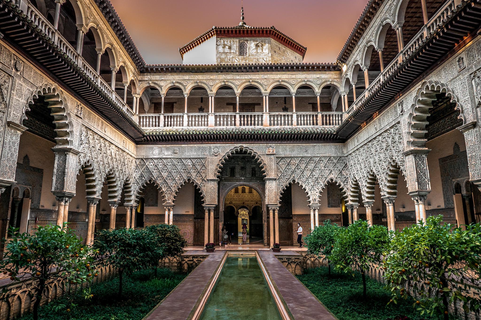 Guias em áudio do Alcázar Real de Sevilha